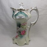 RS Prussia point clover mold Floral Chocolate pot