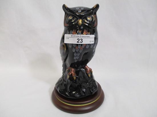 """Fenton decorated owl 5.5"""""""