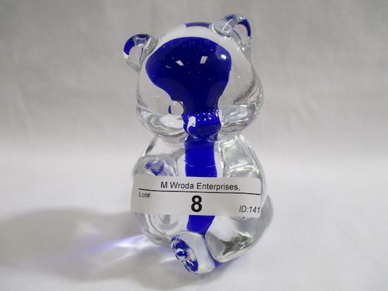 Fenton cobalt core sitting bear