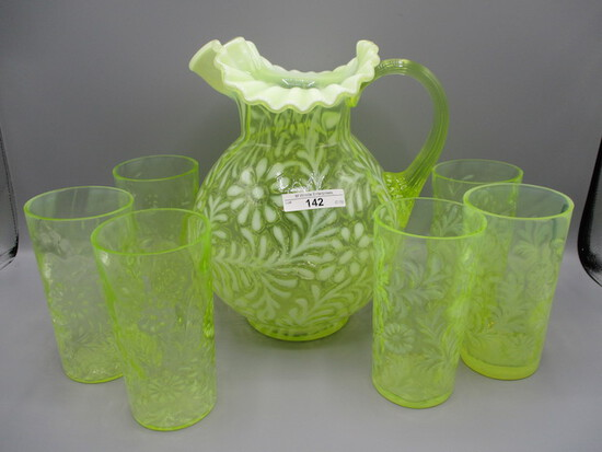 Fenton Glass Auction