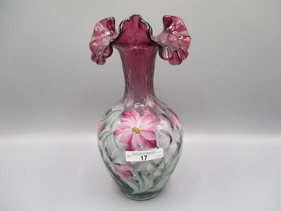 "9.5"" HP Mulberry Vase - Marilyn Wagner"