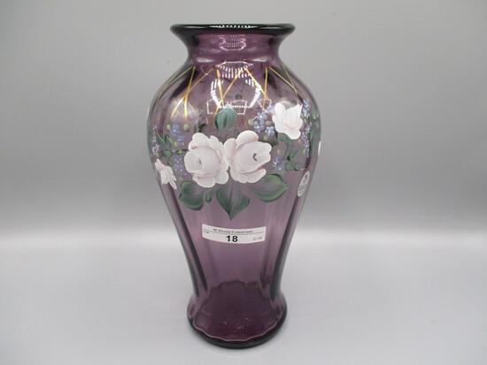 "10"" HP Purple Vase - Smith and Scott Fenton"
