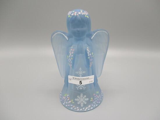 HP Blue Satin Angel - signed Green