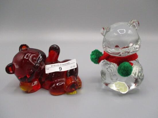 2 Fenton Bears as shown