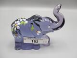 Fenton Lenox HP Purple Elephant