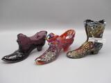 3 Fenton Shoes as shown