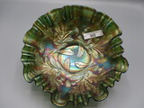 Fenton 8' green Thistle 3/1 edge bowl