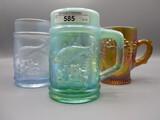 3 Carnival Convention mugs