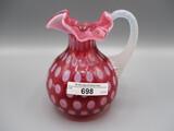 Fenton cranberry opal 5