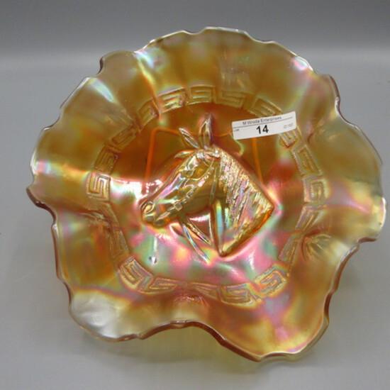 """Dugan 8"""" marigold Pony bowl"""