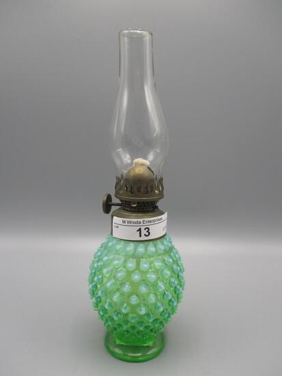 Fenton green opalescent
