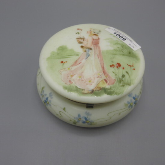 "Bellware 5"" lidded box w/ Kate Greenway decor"