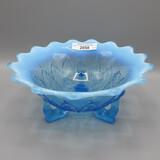 Nwood blue opal Leaf & Beads rosebowl