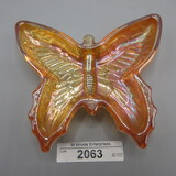 Butterfly pin dish marigold