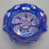Fenton blue CG fantail ft'd bowl
