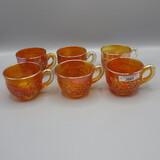 6 Nwood mari G&C punch cups