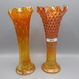 Nwood mari Tree Trunk and Diamond Points vases