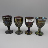 4 Imperial elec purple wines as shown