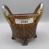 Nwood purple round bushel basket