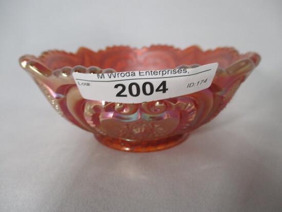 "Imp 5"" marigold Valentine berry bowl"