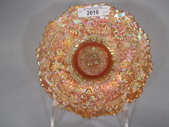 Fenton marigold Cherry Chain plate