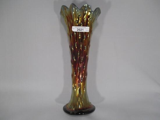 """Nwood 10.5"""" purple Tree Trunk vase"""