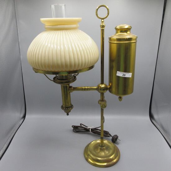 """Cleveland Safety  home library lamp """"Argard"""" 19.75"""""""