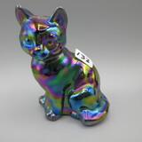 Fenton Carnival sitting cat
