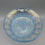 Fenton blue Carnival G&C bowl-8.5