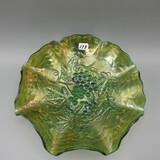 Imperial green Carnival Grape bowl-8