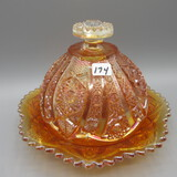 Imperial marigold Carnival Butter Dish