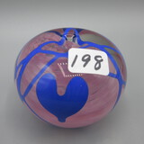 Terry Crider Hanging Heart paper weight