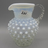 Fenton French Opal. Hobnail small pitcher 5.5