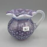 Fenton purple opal Snowflake small jub-4