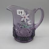 Fenton HP purple pitcher-4.5