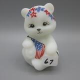 Fenton Patriotic bear-HP by D. Barbour