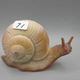 Fenton chocolate satin snail
