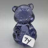 Fenton purple mini bear-2.5