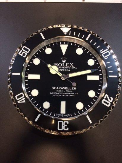 Rolex Händlerwanduhr