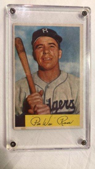 Pee Wee Reese 1954 Bowman Vintage Baseball Card