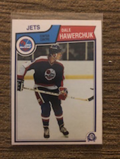 385 TOPPS - JETS- DALE HAWERCHUK