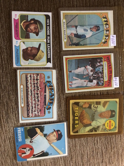 BASEBALL LOT: 1973 HOME RUN LEADERS- 1971 A.L. PLAYOFFS