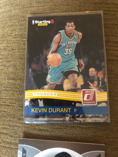 competitive price 059f4 86793 Kevin Durant Panini Starting 5 | Art, Antiques ...