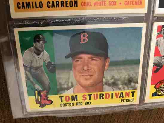 Tom Sturdivant Boston Red Sox Pitcher | Art, Antiques