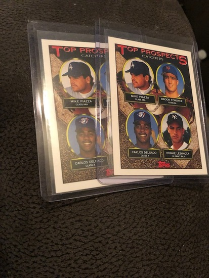 2 Mike Piazza RC+IBk-s