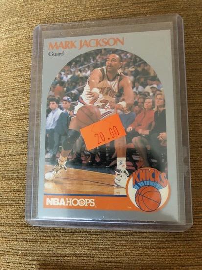 NBA Hoops Mark Jackson Knicks