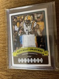 Leonard Fournette Saturday Swatches Football Card