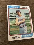 Jim Fregosi Rangers 3rd Base Baseball Cards