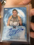 TJ Perkins Authentic Autograph Topps Card