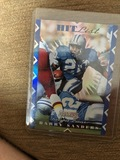 Barry Sanders Hit List numbered insert